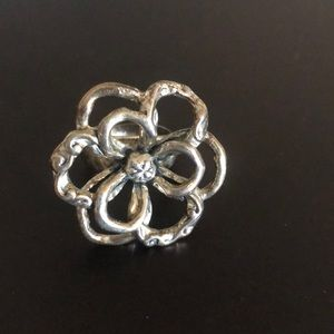 Silpada Flower Power Ring Size 7